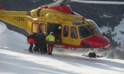 Raffica di incidenti sulle piste da sci