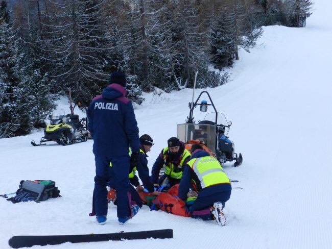 Infortunio sugli sci a Livigno, ventenne in gravi condizioni