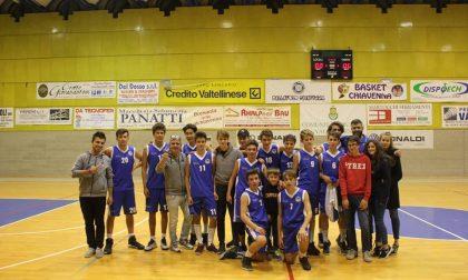 Basket Chiavenna incontra l'Ambivere