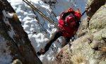 Esercitazione a -10 per il Soccorso Alpino FOTO