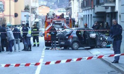 Terrore in piazza Garibaldi a Sondrio il conducente è stato arrestato