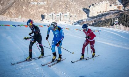 Michele Boscacci sul podio in Cina VIDEO