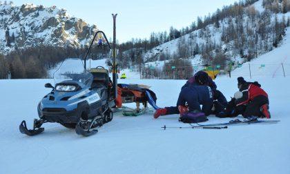 Incidenti sci Una giornata da incubo