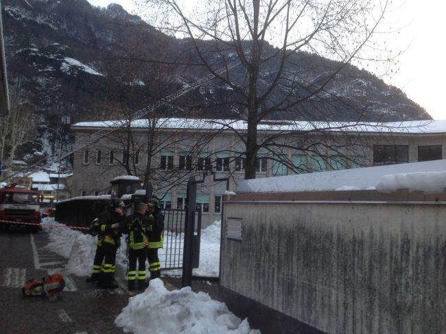 Tetto crollato a Chiavenna, la scuola messa sotto sequestro