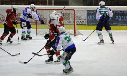 Hockey Chiavenna vittorioso sul Feltre