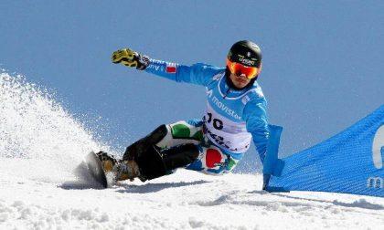 Debutta Maurizio Bormolini in Coppa del Mondo di snowboard