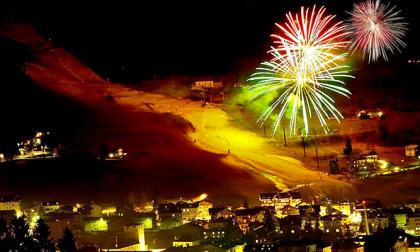 Per il Capodanno a Bormio arriva la pista da sci arancione