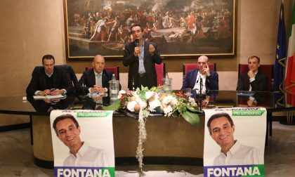 """""""Una provincia forte abrogando la legge Delrio"""", Attilio Fontana a Sondrio"""