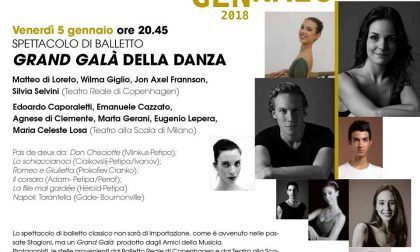 Gran Gala di Danza a Sondrio per salutare l'anno nuovo