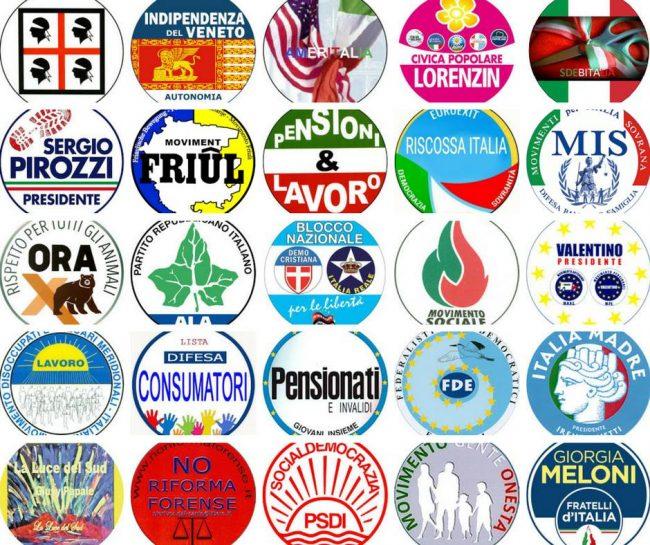 Da forconi al partito delle buone maniere i partiti for Tutti i politici italiani