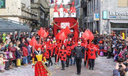 Sfilata di Carnevale a Sondrio, ecco quando