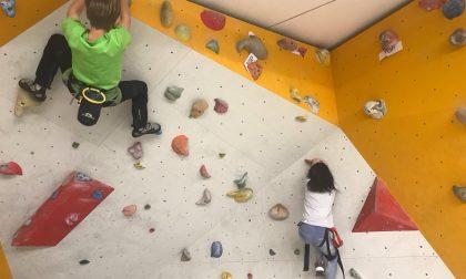 Valfurva, corso di arrampicata per ragazzi - LE FOTO