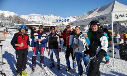 Valtellinesi protagonisti ai nazionali di sci di Protezione civile