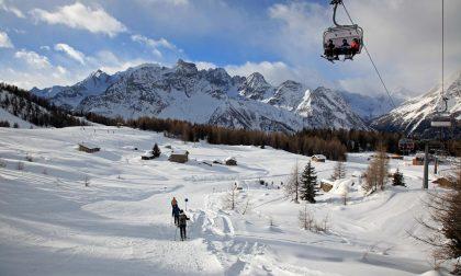 Un metro e mezzo di neve fresca sull'Alpe Palù in Valmalenco