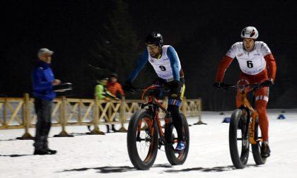 Christian Martinelli vince la gara sprint di fat bike