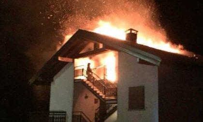 Casa bruciata a Tartano, carabinieri indagano sul rogo