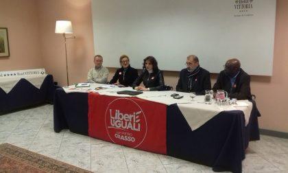 I candidati di Liberi e Uguali presentati a Sondrio