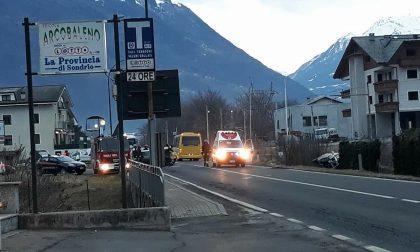 Villa di Tirano, incidente sulla 38