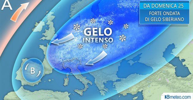 Meteo, gelo siberiano imminente: neve anche in pianura e fiocchi su Roma