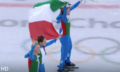 Storica medaglia per l'Italia nello short track