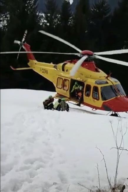 Scialpinista muore travolto da una valanga a Livigno