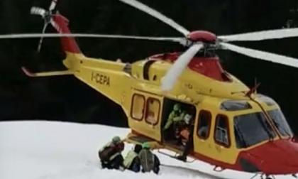 Incidenti sulle piste da sci, feriti tre ragazzini