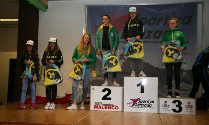 I vincitori del circuito Alpi Centrali Giovani 2108 FOTO