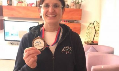 Medaglia di bronzo per Sabrina Risciotti