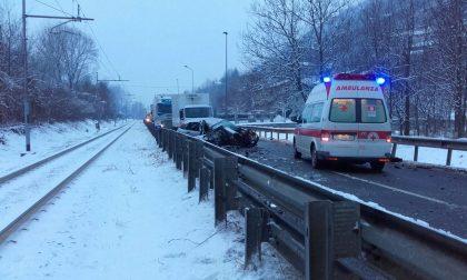 Incidente sulla Statale 38, traffico in tilt