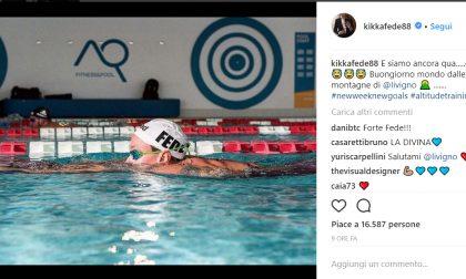 Federica Pellegrini a Livigno