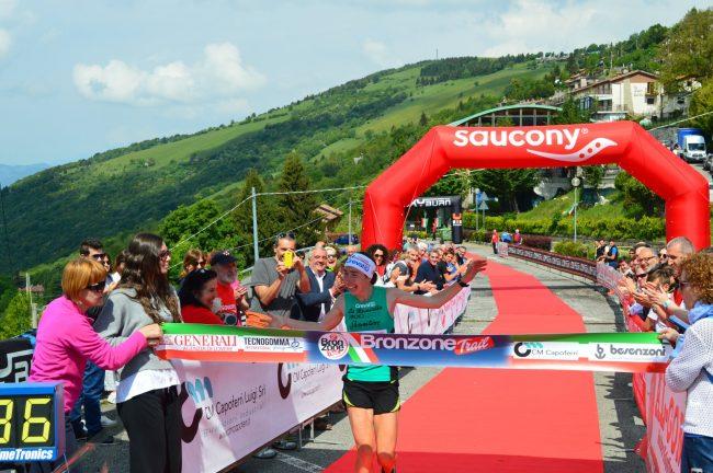 Alice Gaggi vince il Tricolore di Corsa in Montagna