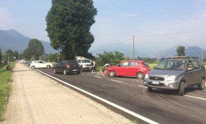 Incidente stradale a Nuova Olonio, paura per due donne