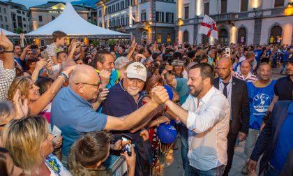 "Matteo Salvini per Scaramellini: ""Prima i sondriesi"" FOTO"