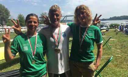Oro, argento e bronzo per i master della Canottieri Retica FOTO