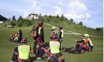 Il Soccorso Alpino aiuta una turista in difficoltà