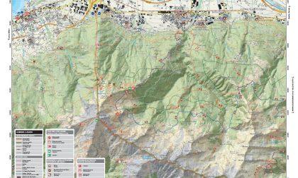 Cartina gratuita per la Val Lesina