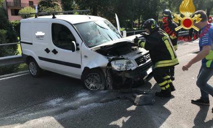 Incidente a San Fedele, ferito un bimbo di 9 anni FOTO