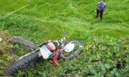 Schianto in moto a Villa di Tirano