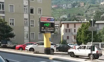 Riscaldamento globale, Sondrio terza in Italia