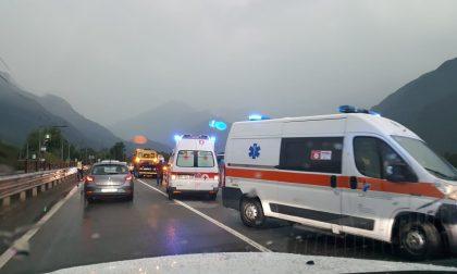 Incidente al Trivio di Fuentes, Statale 36 in tilt