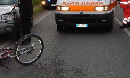 Ciclista investita a Berbenno, la vittima è di Postalesio