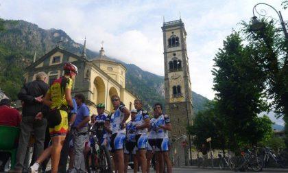 Grosio, pedalata per Paolino Caspani