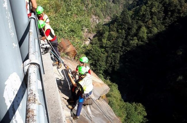 Turista si ferisce facendo canyoning