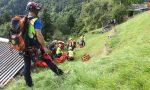 Rimane schiacciato dalla moto a 1300 metri di quota