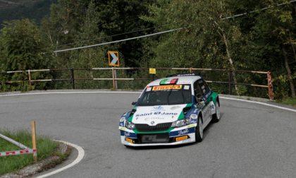 Rally Coppa Valtellina: tutti dietro Rossetti