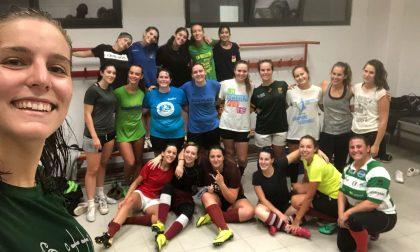 Le ragazze del rugby valtellinese ripartono tra molte novità