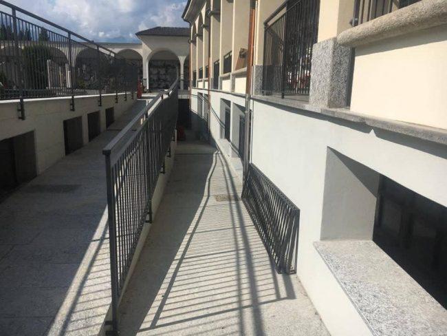 Tirano, un cimitero accessibile