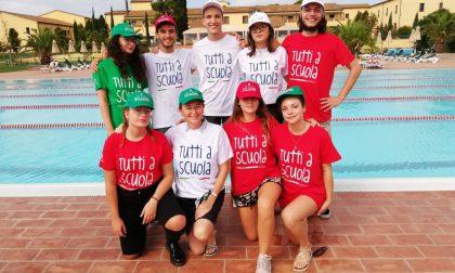 Studenti valtellinesi alla cerimonia di apertura dell'anno scolastico FOTO