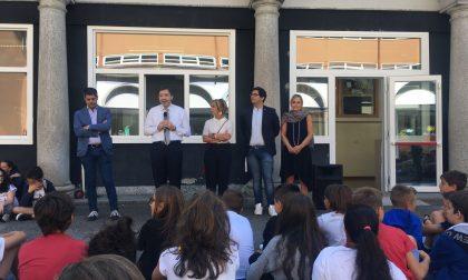 Festa a Chiavenna per l'inizio della scuola FOTO