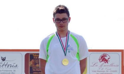 Lancio del Peso: Patrick Olcelli è campione regionale